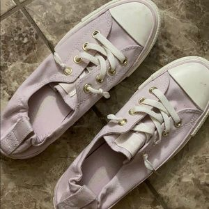 Converse Slip On Pink/Lavender Shoes